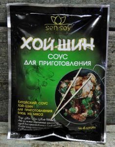 """""""СЭН-СОЙ"""" Соус для приготовления Хой шин «Hoi Sin» метал. пакет 120гр"""