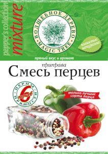 """ВД Приправа """"Смесь перцев"""" с морской солью  30г"""