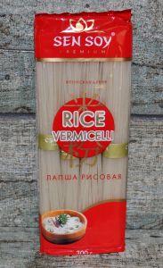 СЭН-СОЙ Рисовая лапша «RICE VERMICELLI» пакет 300гр