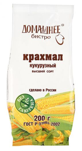 ДОМАШНЕЕ БИСТРО Крахмал кукурузный 200 г