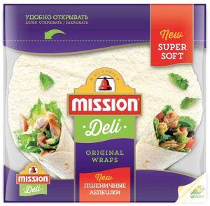 Mission Тортилья 8-дюйм. (6 леп. 250г) пшеничные